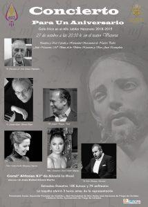 Concierto para un Aniversario @ Teatro Victoria de Priego de Córdoba