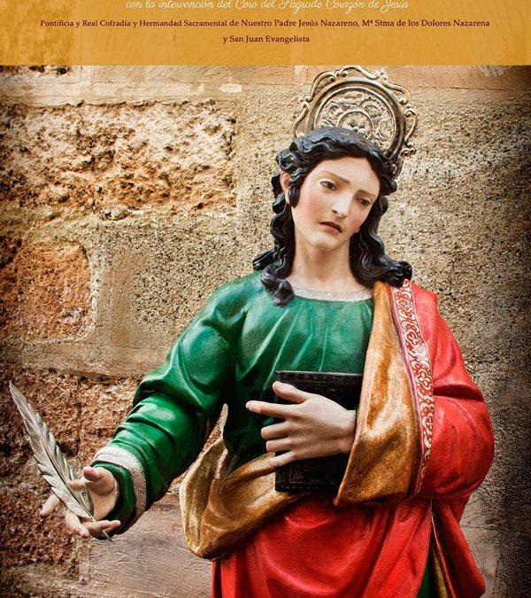 Misa en Honor de San Juan Evangelista.