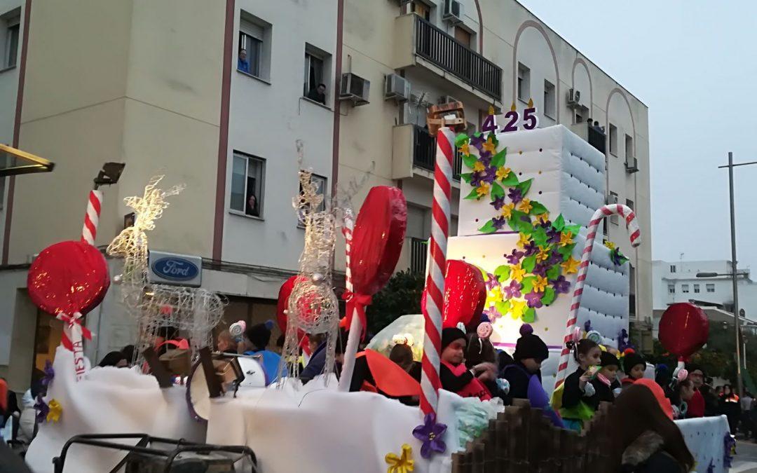 Participación en la Cabalgata de Reyes