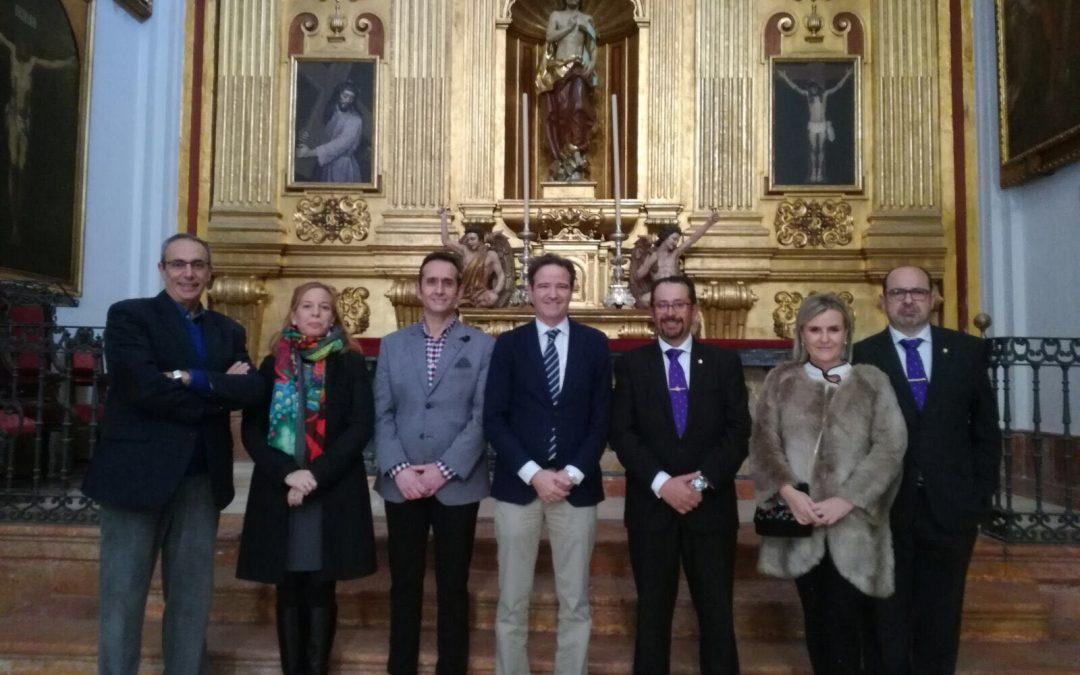 Visita a la Agrupación de Cofradías de Málaga