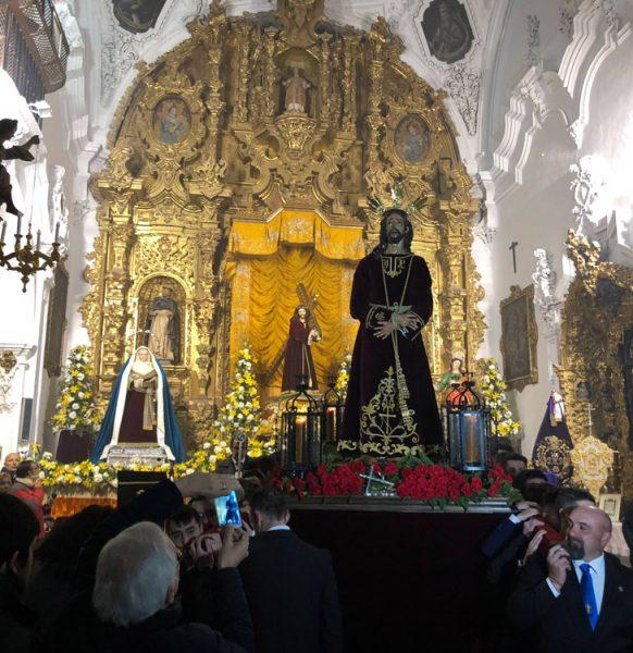Peregrinación de la Hermandad del Ntro. Padre Jesús Preso y María Stma. del Mayor Dolor.
