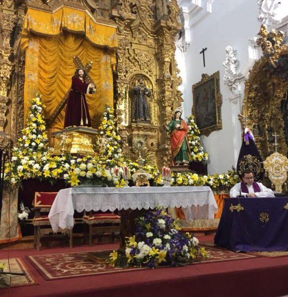 Retiro Cuaresmal de la Agrupación de Hermandades y Cofradías de Priego de Córdoba en el Templo Jubilar de San Francisco