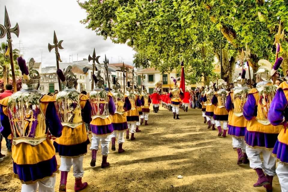 Centurias participantes en la «I Concentración Ciudad de Priego»