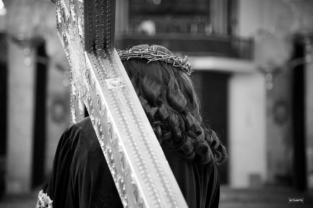 Galería de fotos del Nazareno expuesto para el besapie