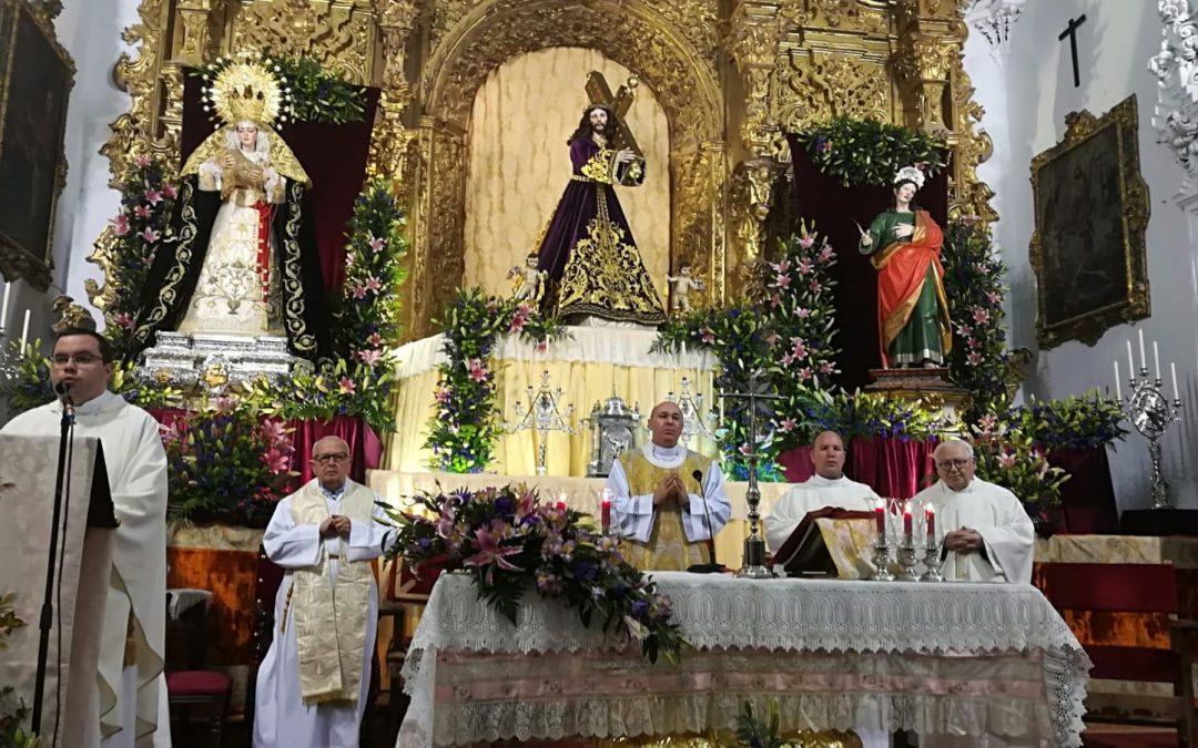Segundo día de Septenario Nazareno. Mayo 2018.