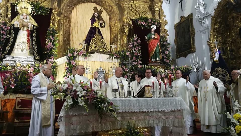 Cuarto día de Septenario Nazareno. Mayo 2018.