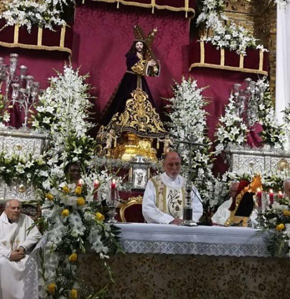 Quinto día de Septenario y Primer día de Triduo