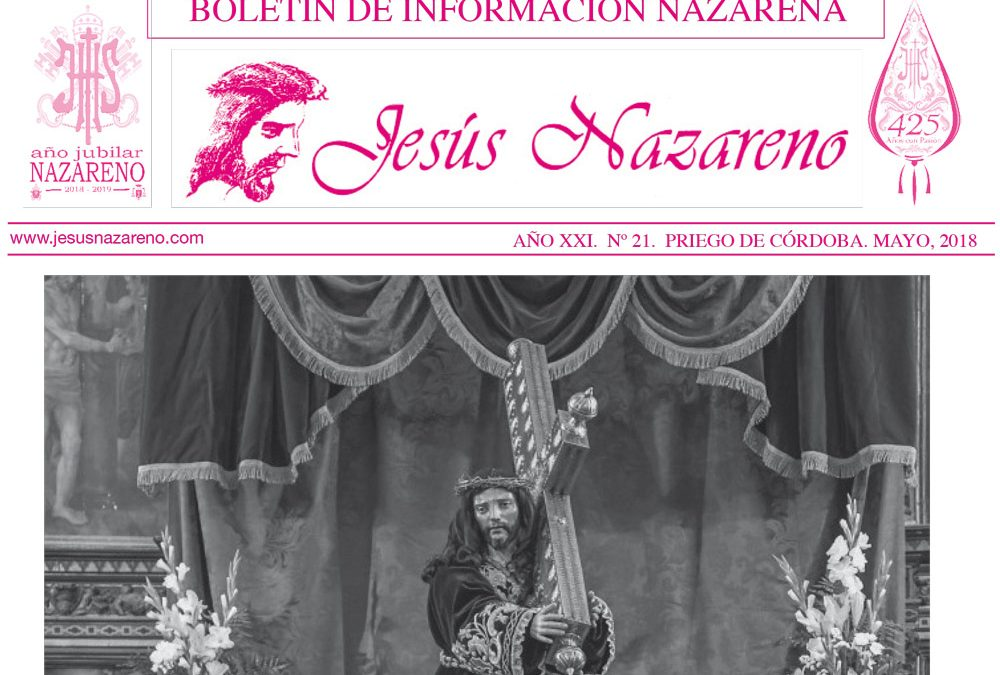 Boletín de Información Nazarena 2018