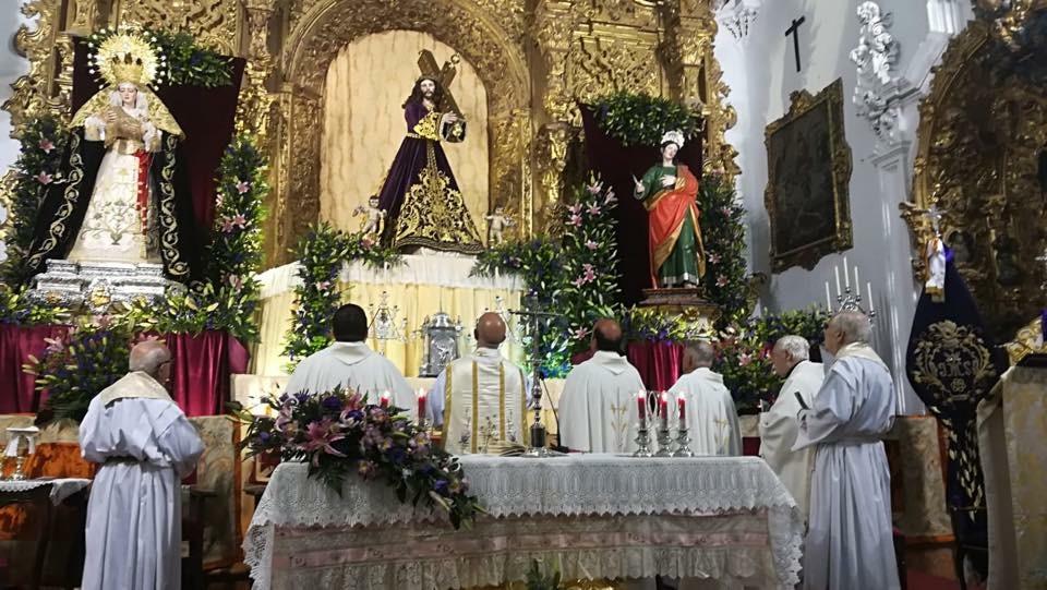 Primer día de Septenario Nazareno. Mayo 2018.
