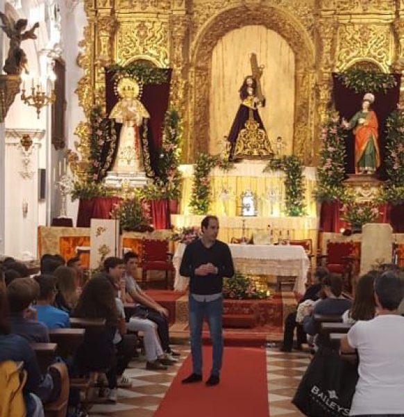 Peregrinación de Secundaria del Colegio Hermanos Maristas