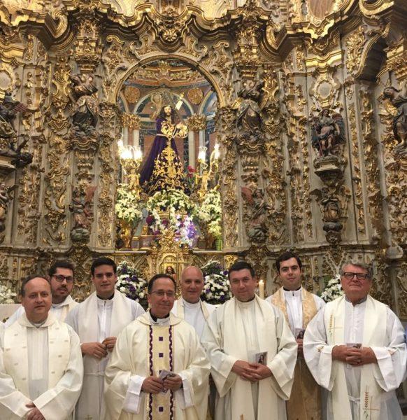 Peregrinación de sacerdotes del Arciprestazgo de Lora del Río