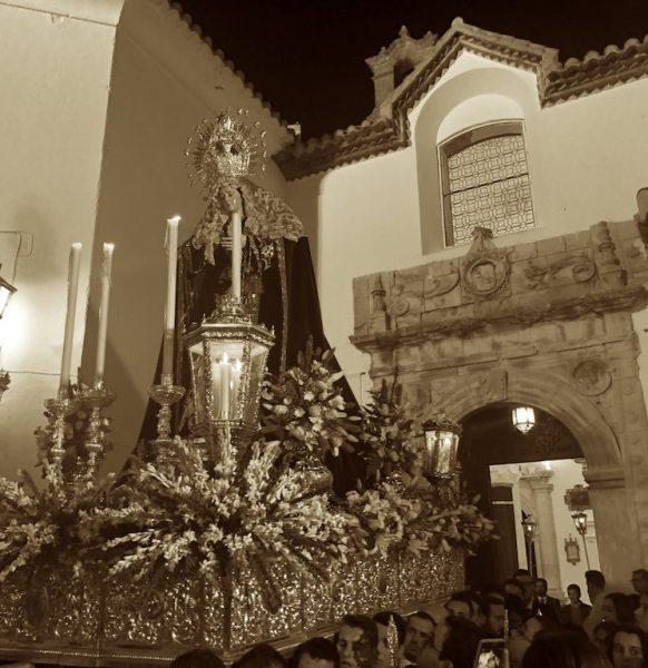 Crónica Visual del Traslado a la Parroquia de Mª. Stma. de los Dolores Nazarena