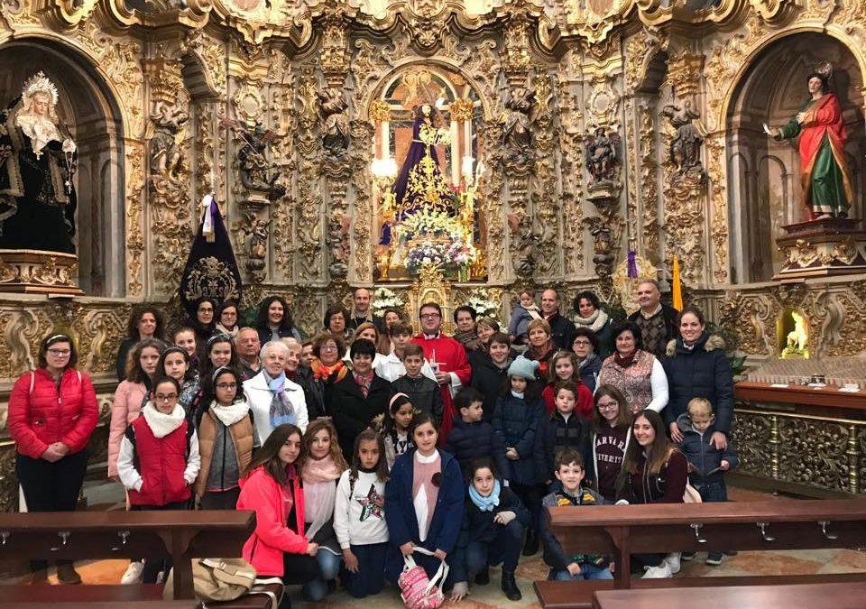 Peregrinación de Santo Domingo de Guzmán de Lucena