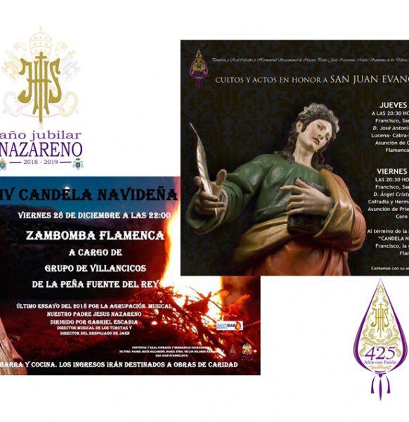 Fiestas en honor de San Juan Evangelista