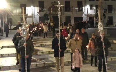 Peregrinación de la Hdad. de la Soledad Coronada y Santo Entierro