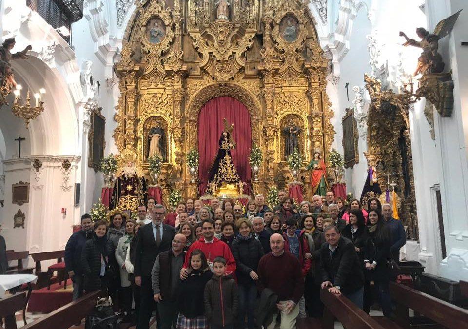 Peregrinación de la Parroquia de la Coronación de la Virgen, San Fernando y San Antón de Carmona