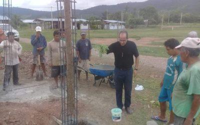 Comienzo de la Construcción de la Capilla de Jesús Nazareno en Perú