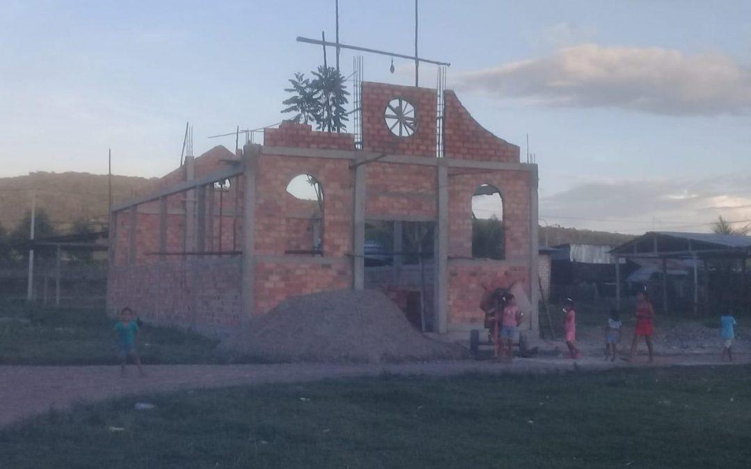 Avanza la construcción de la Capilla de Jesús Nazareno en Perú