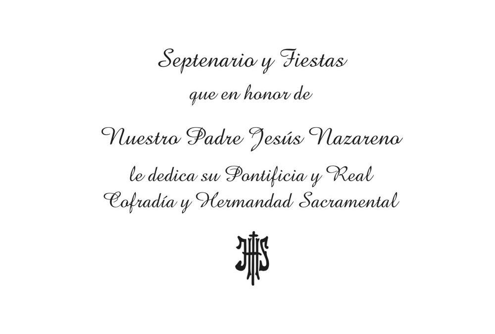 Programa Nazareno Mayo 2019