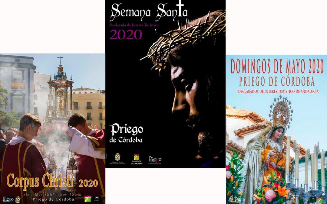 Presentación de los Carteles de Semana Santa, Domingos de Mayo y Corpus Christi 2020