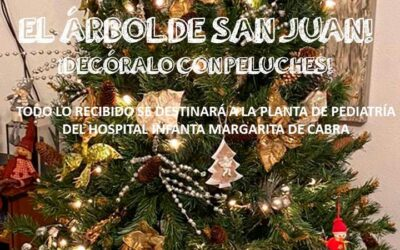 El Árbol de San Juan. Decóralo con Peluches
